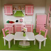 Мебель для кукол ручной работы. Ярмарка Мастеров - ручная работа Кукольная мебель. Handmade.