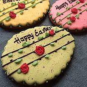 """Сувениры и подарки ручной работы. Ярмарка Мастеров - ручная работа Расписное пасхальное яйцо  """"Happy Easter"""". Handmade."""