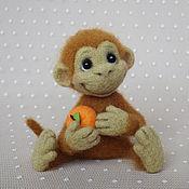 Куклы и игрушки ручной работы. Ярмарка Мастеров - ручная работа Мандаринчик. Handmade.