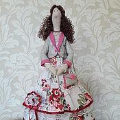 Куклы и игрушки ручной работы. Ярмарка Мастеров - ручная работа Тильда модница Изольда. Handmade.