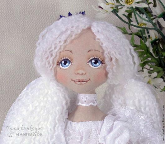 Нарисовать лицо кукле из ткани пошагово 55