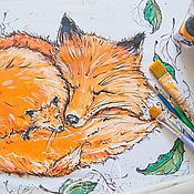 Одежда handmade. Livemaster - original item calm and serenity... fox. Handmade.
