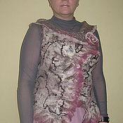 """Одежда ручной работы. Ярмарка Мастеров - ручная работа Жилет """"Зимняя роза"""". Handmade."""