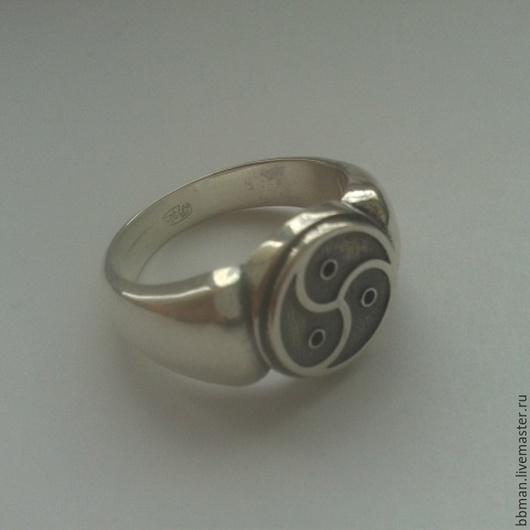 Кольцо перстень БДСМ (BDSM) из серебра 925