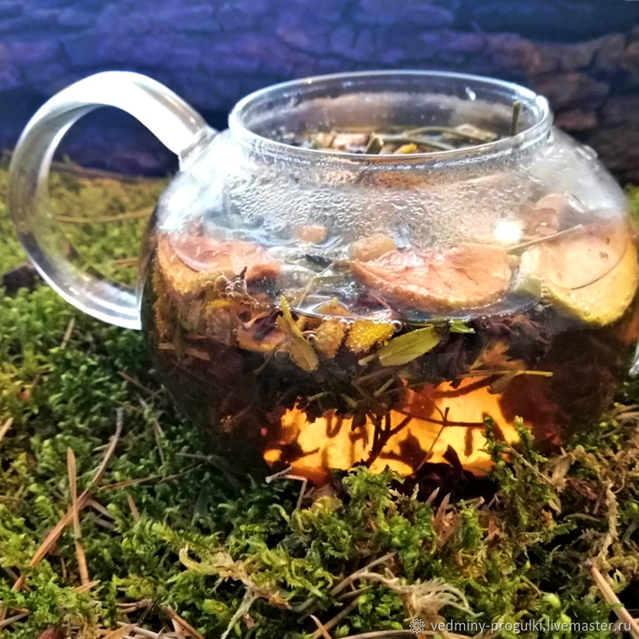 Цыганский чай с пижмой и яблоками, Кулинарные сувениры, Омск,  Фото №1