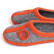 Обувь ручной работы. Ярмарка Мастеров - ручная работа Именные тапочки. Handmade.
