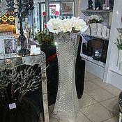 Для дома и интерьера handmade. Livemaster - original item Interior vase, mirror mosaic. Handmade.