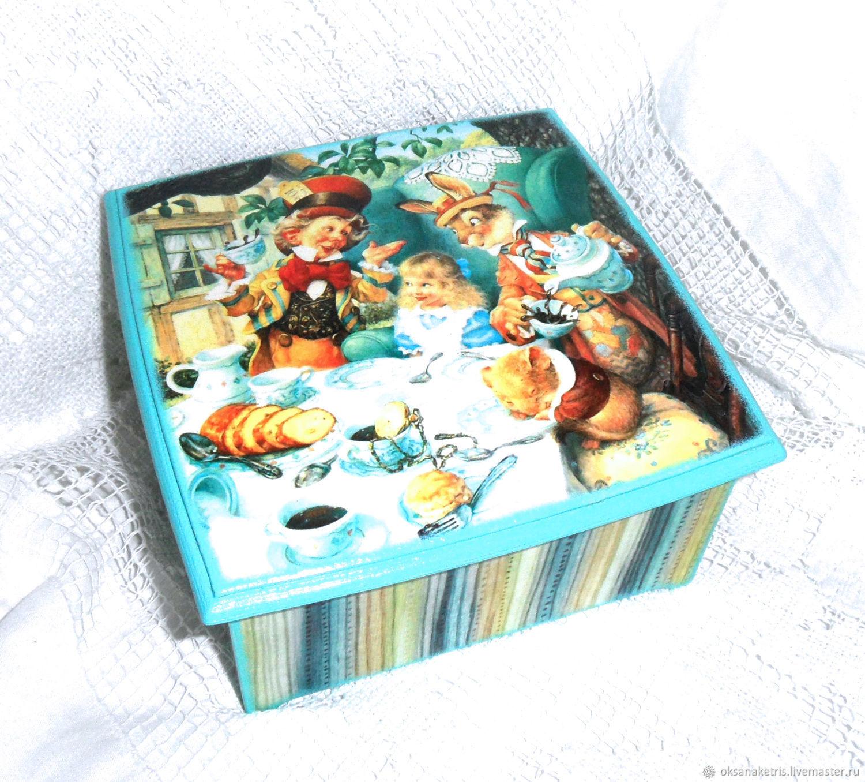 Tea box Mad tea party, Houses, Novosibirsk,  Фото №1