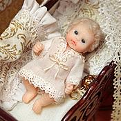 Куклы и игрушки ручной работы. Ярмарка Мастеров - ручная работа Малыш- Царевич  (4,8см). Handmade.