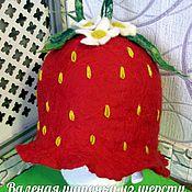 Аксессуары handmade. Livemaster - original item Cap for bath. Handmade.