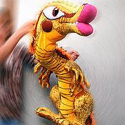 Куклы и игрушки handmade. Livemaster - original item Chudo-Yudo. Theatrical tablet doll.. Handmade.