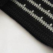 Аксессуары handmade. Livemaster - original item Knitted men`s scarf