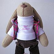 Куклы и игрушки ручной работы. Ярмарка Мастеров - ручная работа Зайка спортсменка. Handmade.