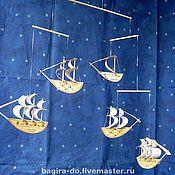 """Для дома и интерьера ручной работы. Ярмарка Мастеров - ручная работа Воздушная подвеска """"Кораблики Счастья"""". Handmade."""