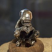Украшения handmade. Livemaster - original item Xenomorph lanyard bead. Handmade.
