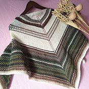 Аксессуары handmade. Livemaster - original item THE NORDIC SHAWL (SHAWL). Handmade.