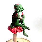 Куклы и игрушки handmade. Livemaster - original item Mushroom goblin. Handmade.