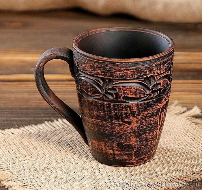 Cup 'Tea Edging' 400ml, Cups, Feodosia,  Фото №1