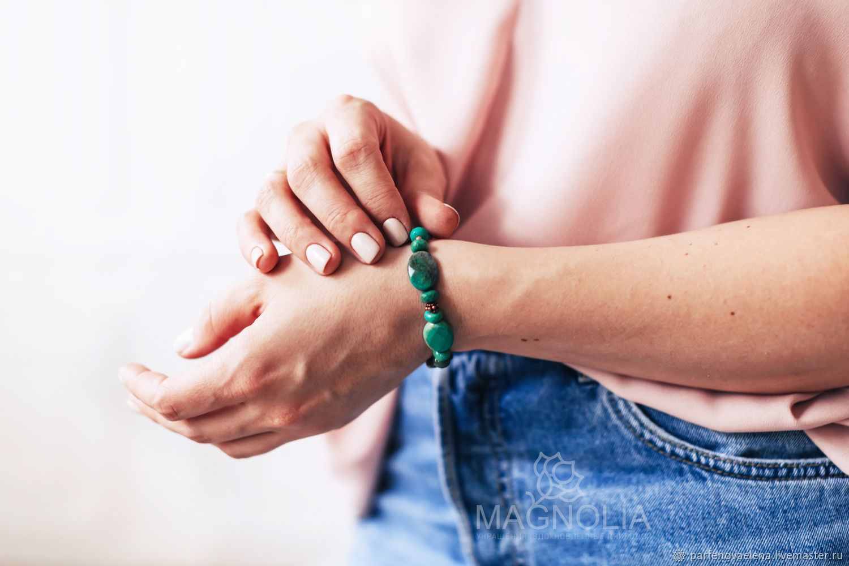 Bracelet 'Thessalia', Bead bracelet, Omsk,  Фото №1