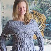 Одежда handmade. Livemaster - original item Knit dress rings