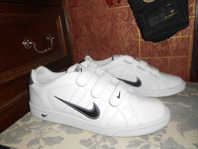 Винтаж: Кожа NIke мужские кроссы, Винтажная обувь, Москва,  Фото №1
