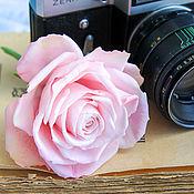 Цветы и флористика ручной работы. Ярмарка Мастеров - ручная работа Чайные розы ручной работы из полимерной глины. Handmade.