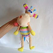 """Куклы и игрушки ручной работы. Ярмарка Мастеров - ручная работа """"Жираф плюшевый"""" мягкая игрушка. Handmade."""