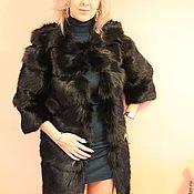 Одежда handmade. Livemaster - original item The fur of the black Fox. Handmade.