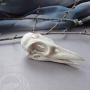 """Украшения ручной работы. Ярмарка Мастеров - ручная работа Кулон """"Череп ворона"""". Handmade."""