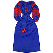 "Одежда handmade. Livemaster - original item Long dress made of wool ""Oriental Beauty"". Handmade."