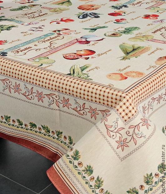 Текстиль, ковры ручной работы. Ярмарка Мастеров - ручная работа. Купить Скатерть гобеленовая -дары. Handmade. Комбинированный, скатерть хлопковая