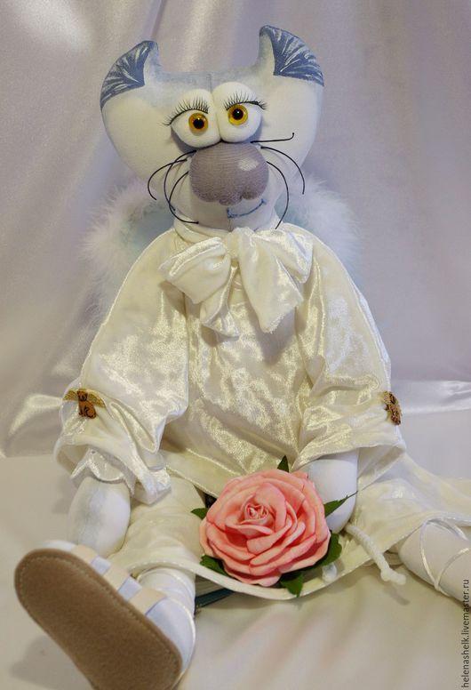 """Игрушки животные, ручной работы. Ярмарка Мастеров - ручная работа. Купить Авторская кукла """"Мой милый ангел :-))"""". Handmade."""