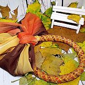"""Аксессуары ручной работы. Ярмарка Мастеров - ручная работа Шарф колье """"Осень"""". Handmade."""