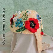 """Для дома и интерьера ручной работы. Ярмарка Мастеров - ручная работа Шапка для бани """"Блондинка"""". Handmade."""