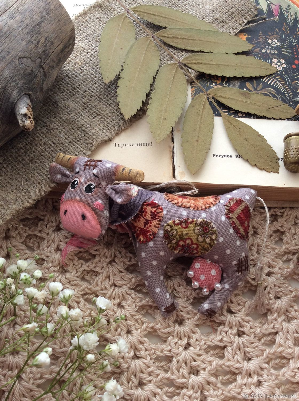 Коровка Бурёнка, Мягкие игрушки, Тюмень,  Фото №1