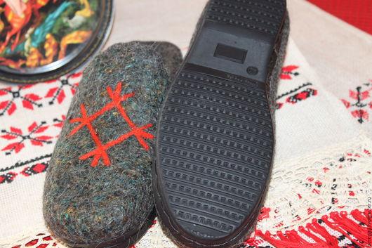 Обувь ручной работы. Ярмарка Мастеров - ручная работа. Купить обувь домашняяНатуральные сорта шерсти содержат активные вещества, осн. Handmade.