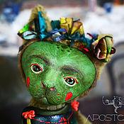 Куклы и игрушки ручной работы. Ярмарка Мастеров - ручная работа Кошка Лурдес. Handmade.