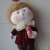 Куклы и игрушки ручной работы. Ярмарка Мастеров - ручная работа Король розовых чаек. Handmade.