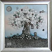handmade. Livemaster - original item Money tree - a symbol of good luck, prosperity, financial well-being.. Handmade.