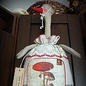 Для дома и интерьера ручной работы. Ярмарка Мастеров - ручная работа МУХОМОРРА  пакетница. Handmade.