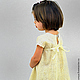 """Одежда для девочек, ручной работы. Платье войлочное для девочки """"Ванильная Принцесса"""". Валяная обувь, сумки, палантины (newvoilok). Ярмарка Мастеров."""