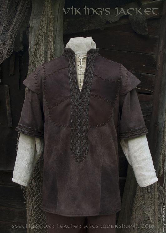 """Верхняя одежда ручной работы. Ярмарка Мастеров - ручная работа. Купить Куртка """"Викинг"""" (по мотивам костюма Рагнара Лодброка). Handmade."""