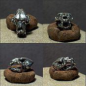 Материалы для творчества handmade. Livemaster - original item Bear Skull charm. Handmade.