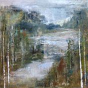 Картины и панно ручной работы. Ярмарка Мастеров - ручная работа Разлив молочной реки. Handmade.
