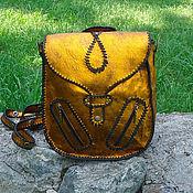 Сумки и аксессуары handmade. Livemaster - original item Women`s youth leather backpack MARPESSA vintage style. Handmade.