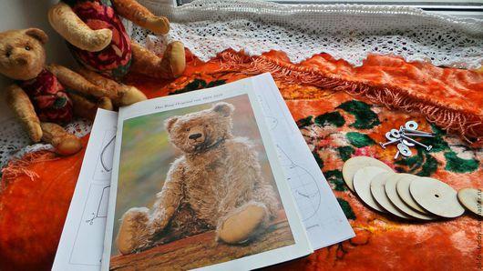 Куклы и игрушки ручной работы. Ярмарка Мастеров - ручная работа. Купить Наборы для шитья мишек Тедди(30 см) винтажный плюш. Handmade.