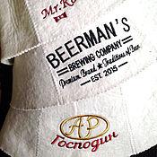 Для дома и интерьера handmade. Livemaster - original item Embroidery on the cap for bath. Handmade.