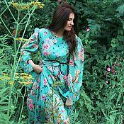 Одежда ручной работы. Ярмарка Мастеров - ручная работа лесная нимфа -шифоновое платье. Handmade.