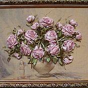 Картины и панно ручной работы. Ярмарка Мастеров - ручная работа Винтажные розы. Handmade.