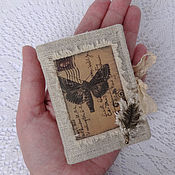 Для дома и интерьера handmade. Livemaster - original item Pincushion - book the dream of the moth.. Handmade.